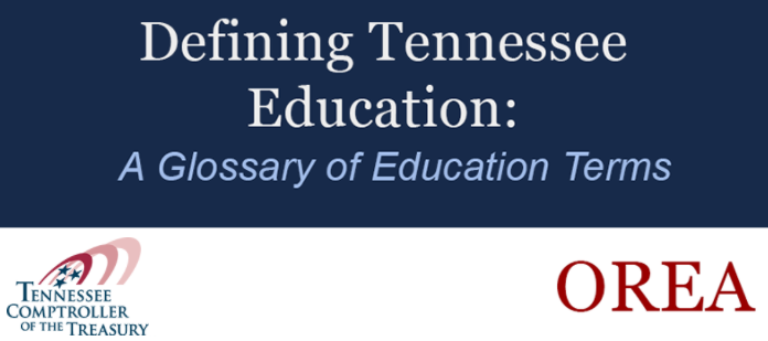 Defining Tennessee Education: A Glossary of Education Terms